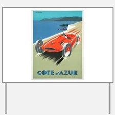 Vintage poster - French Riviera Yard Sign