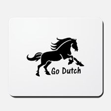 HORSE - Go Dutch - Warmblood design - KW Mousepad