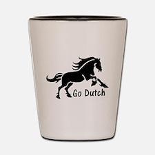 HORSE - Go Dutch - Warmblood design - K Shot Glass
