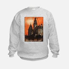 Vintage poster- Krakow Sweatshirt