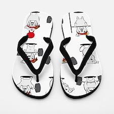 Unique Fitness Flip Flops