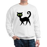 Cat With Green Eyes Sweatshirt