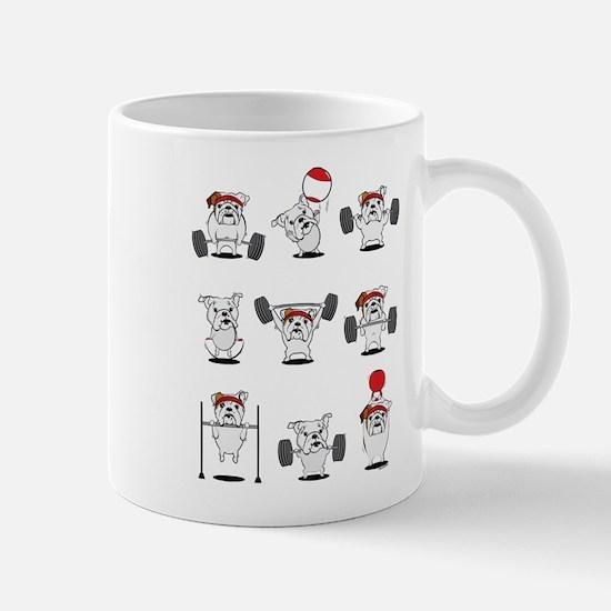 Crossfit Bulldogs Mugs