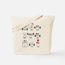 Crossfit Bulldogs Tote Bag
