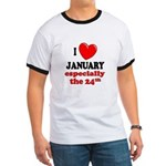 January 24th Ringer T