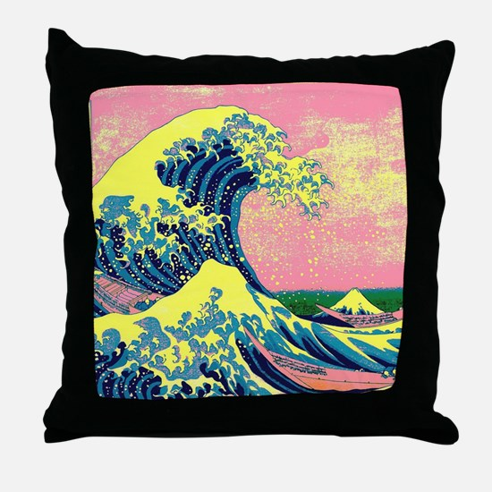 Unique Psychedelic Throw Pillow