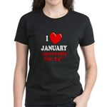 January 24th Women's Dark T-Shirt