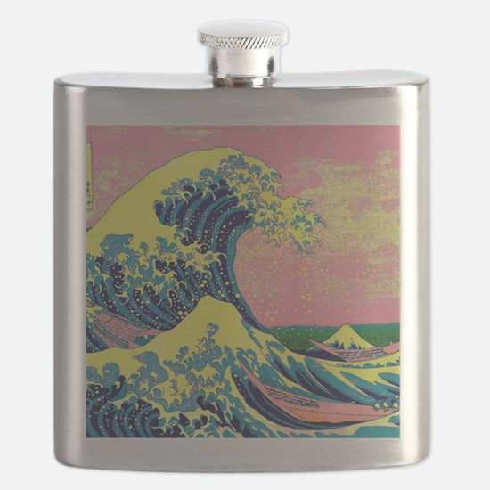 Cute Psychedelic Flask