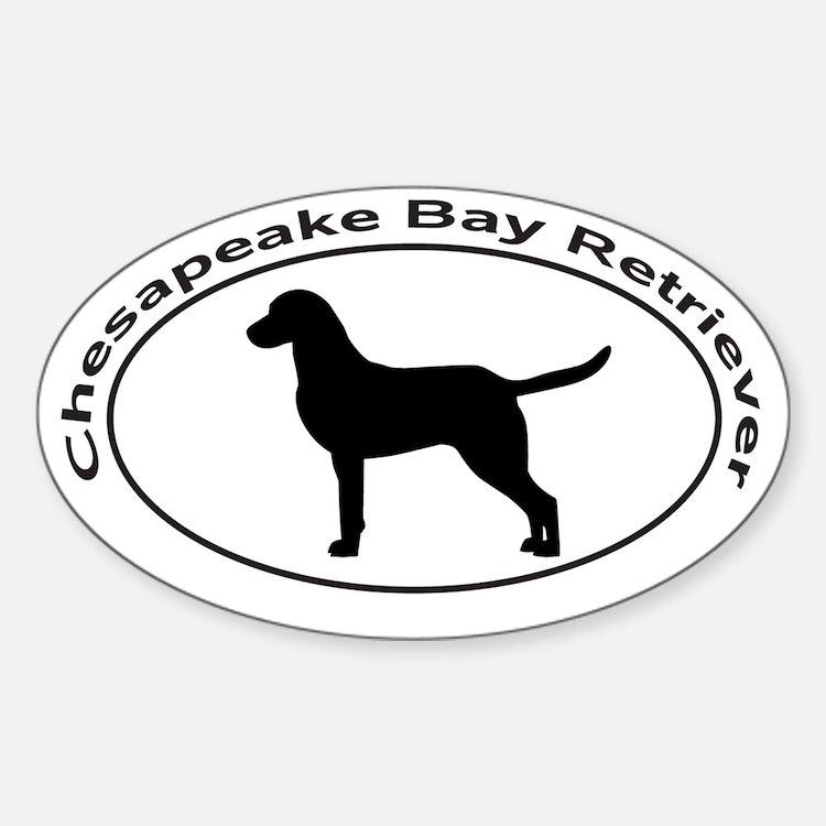 CHESAPEAKE BAY RETRIEVER Sticker (Oval)