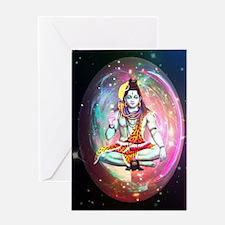 Cute Shiva Greeting Card
