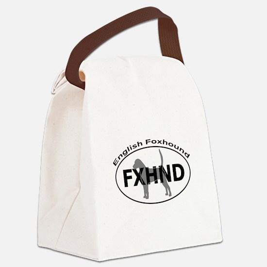 ENGLISH FOXHOUND Canvas Lunch Bag