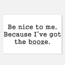 Cool Bartender Postcards (Package of 8)