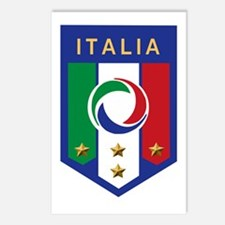 Italian Soccer emblem Postcards (Package of 8)