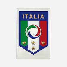 Italian Soccer emblem Rectangle Magnet (10 pack)