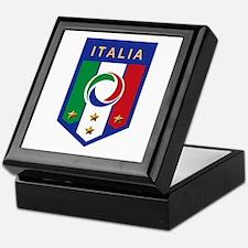 Italian Soccer emblem Keepsake Box
