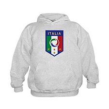 Italian Soccer emblem Hoodie