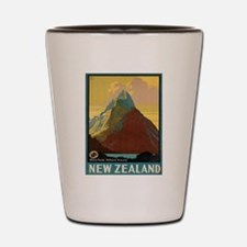 Vintage poster - New Zealand Shot Glass