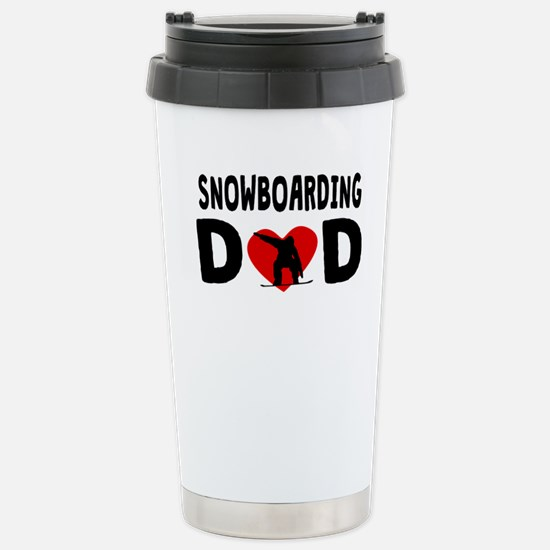 Snowboarding Dad Mugs
