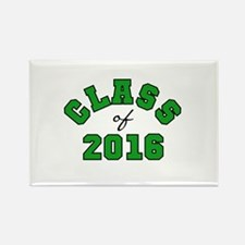 Class of 2016 Green Rectangle Magnet (10 pack)