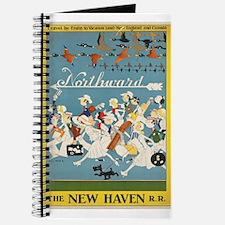 Vintage poster - New Haven Railroad Journal