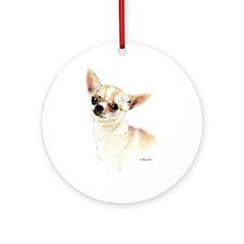 Chihuahua 5 Ornament (Round)