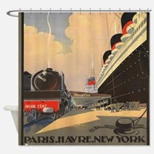 Cool Vintage advertisement Shower Curtain