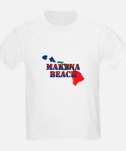 Makena Beach Hawaii T-Shirt