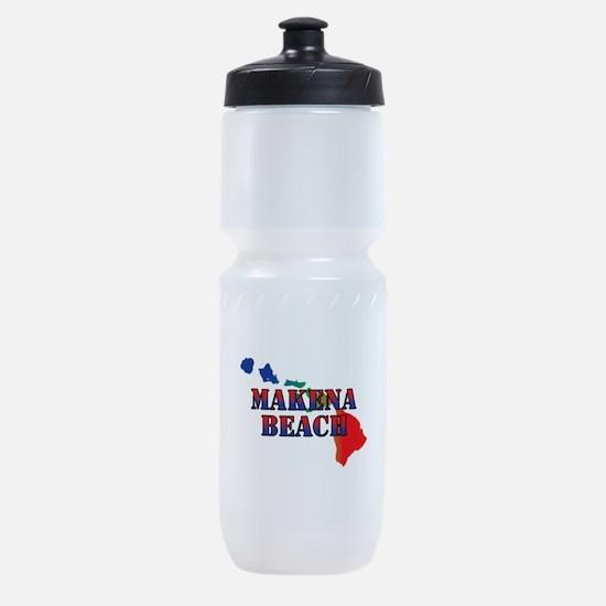 Makena Beach Hawaii Sports Bottle