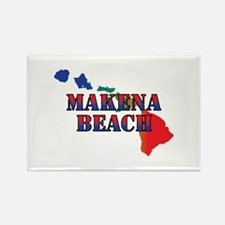 Makena Beach Hawaii Magnets