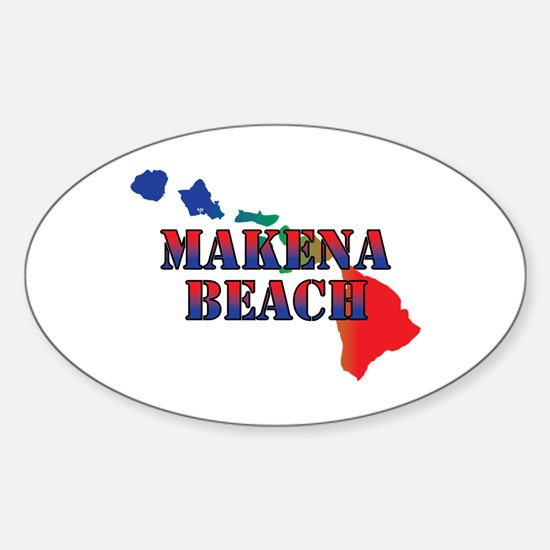 Makena Beach Hawaii Decal