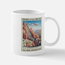 Vintage poster - Peru Mugs