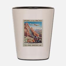Vintage poster - Peru Shot Glass