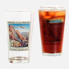 Vintage poster - Peru Drinking Glass