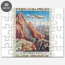 Vintage poster - Peru Puzzle