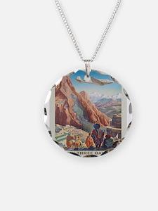 Vintage poster - Peru Necklace