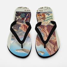 Vintage poster - Peru Flip Flops