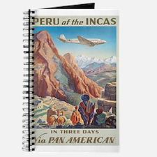 Vintage poster - Peru Journal