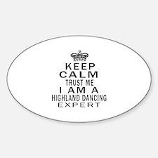 Highland dancing Dance Expert Desig Decal