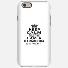 I Am Harmonica Expert iPhone 6 Tough Case