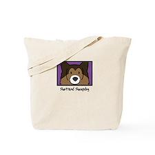 Anime Sheltie Tote Bag