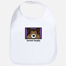 Anime Sheltie Bib