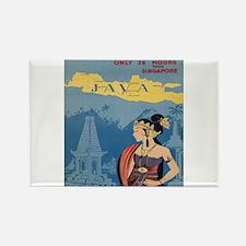 Vintage poster - Java Magnets