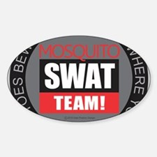 Mosquito Swat Team Decal