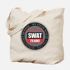 Mosquito Swat Team Tote Bag