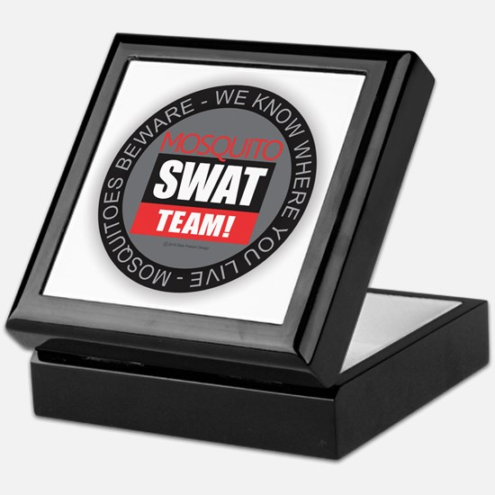 Mosquito Swat Team Keepsake Box