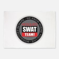 Mosquito Swat Team 5'x7'Area Rug