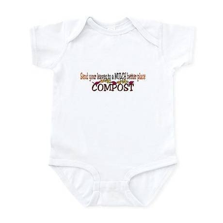 Mulch Compost Infant Bodysuit