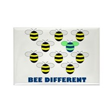 BEE DIFFERENT Rectangle Magnet (10 pack)