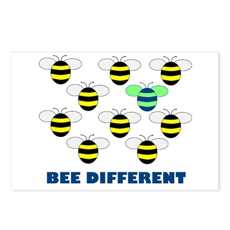 BEE DIFFERENT Postcards (Package of 8)