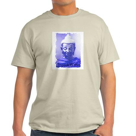 Buddha Inquire Within Light T-Shirt